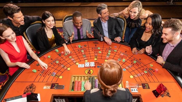 Trong những trò chơi tại casino ở Hồ Tràm thì Baccarat được đánh giá là khá thú vị