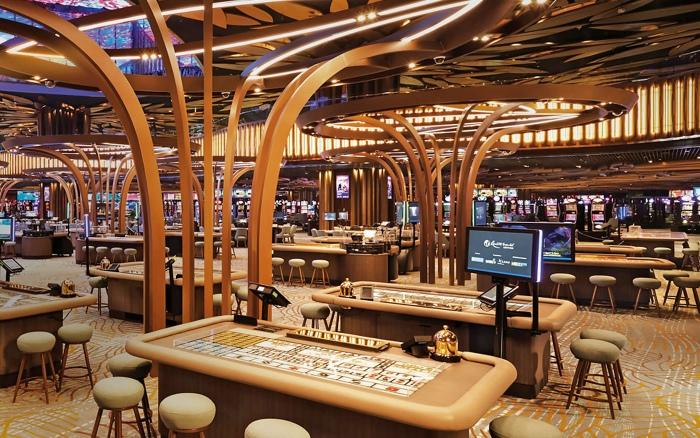 Trong một số khu vực tại casino không cho phép người chơi hút thuốc hay mang thuốc