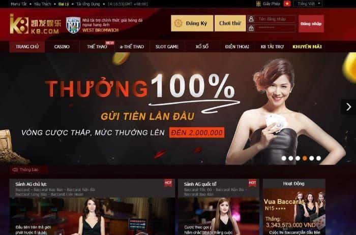 Trang casino online có doanh thu tốt mùa dịch